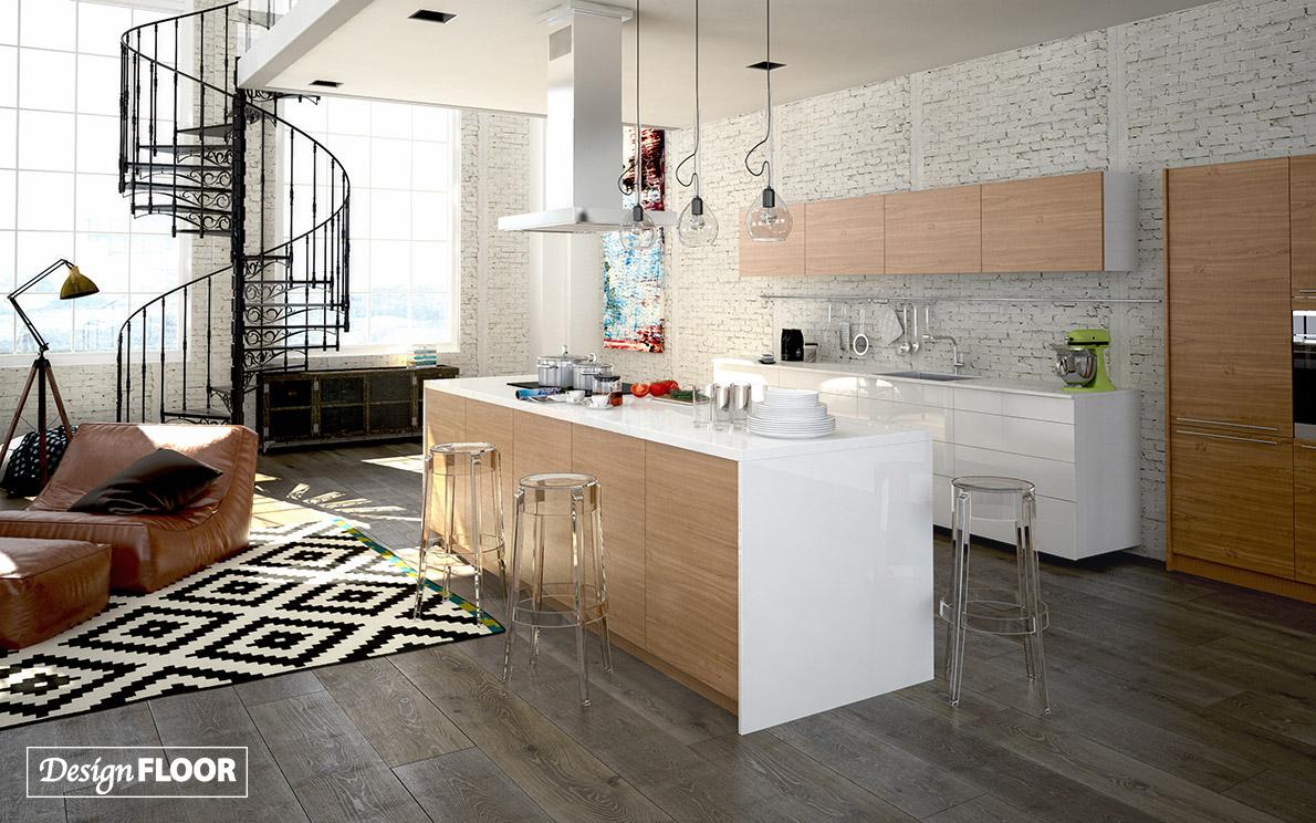 Cappucino Oak Design Floor