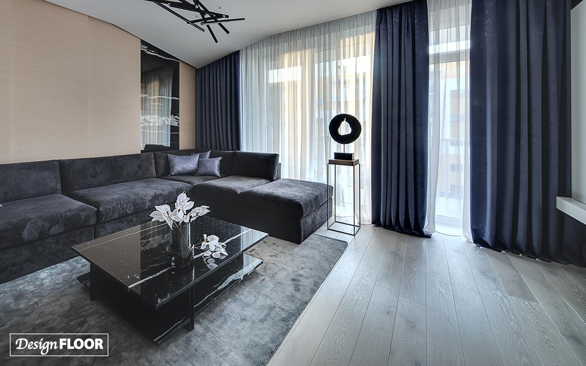 Weathered Grey Design Floor